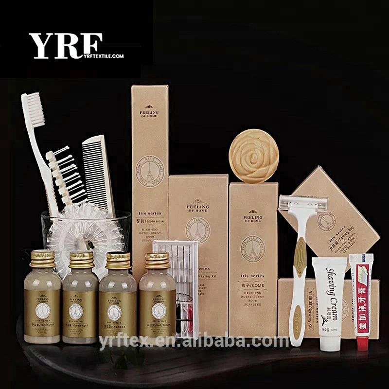 YRF Hotelausstattung Sets Einweg Hotel Amenity Set Luxury Hotel Supplies Eco Friendly Shampoo Duschgel Condotioner