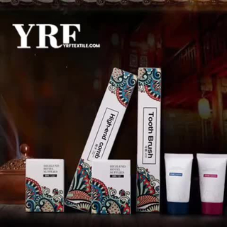 YRF exquisites Design Hotel Badezimmer Travel Kit Rasierrasiermesser